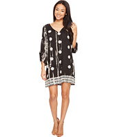 Tolani - Gwyneth Embroidered Tunic Dress
