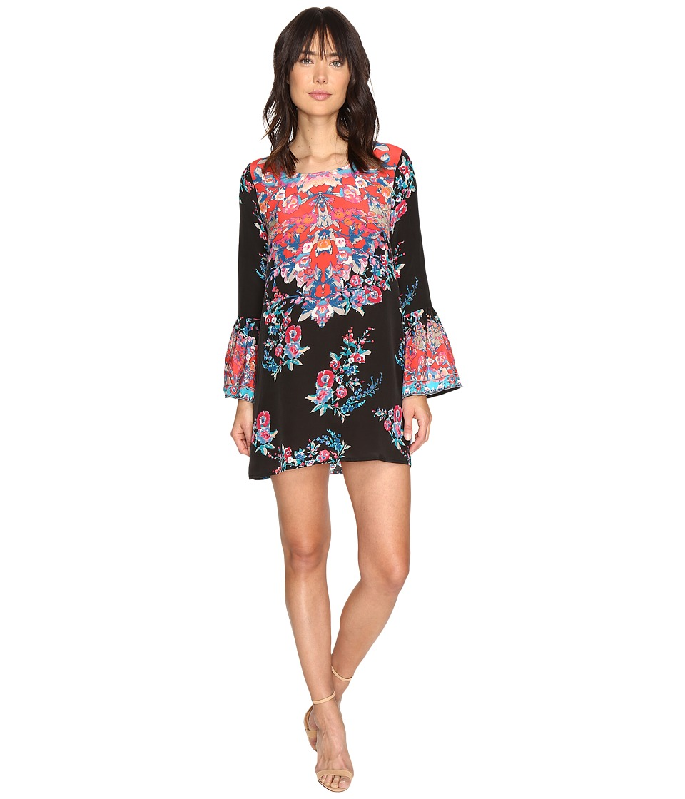 Tolani Belle Mini Dress (Black Floral) Women