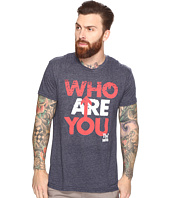 The Original Retro Brand - Who Are You Short Sleeve Tri-Blend Tee
