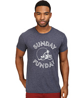 The Original Retro Brand - Sunday Funday Short Sleeve Tri-Blend Tee