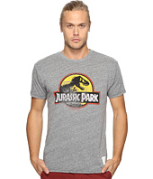 The Original Retro Brand - Short Sleeve Tri-Blend Jurassic Park Tee