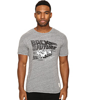 The Original Retro Brand - Back To Future Tri-Blend Short Sleeve Tee