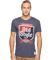 The Original Retro Brand - Short Sleeve Tri-Blend Old Style Tee