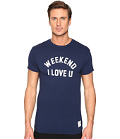 The Original Retro Brand - Weekend I Love Short Sleeve Vintage Cotton Tee