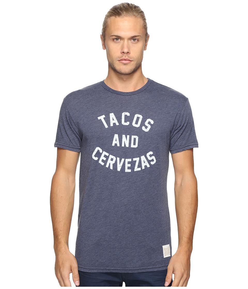 The Original Retro Brand - Short Sleeve Heathered Tacos and Cervezas Tee