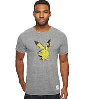The Original Retro Brand - Playboy Short Sleeve Tri-Blend Tee