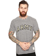 The Original Retro Brand - Short Sleeve Tri-Blend Army Tee