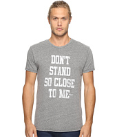 The Original Retro Brand - Short Sleeve Tri-Blend Police Don't Stand So Close To Me Tee
