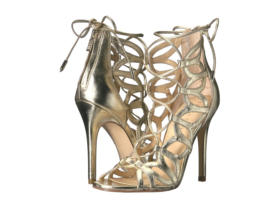 Ivanka Trump Hela (Gold Leather/Metallic Sheep Nappa) High Heels