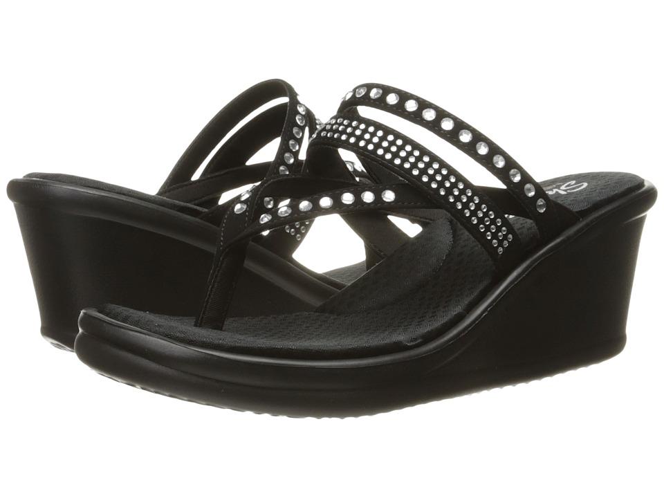 Skechers Rumblers - Famous (Black) Women's Shoes