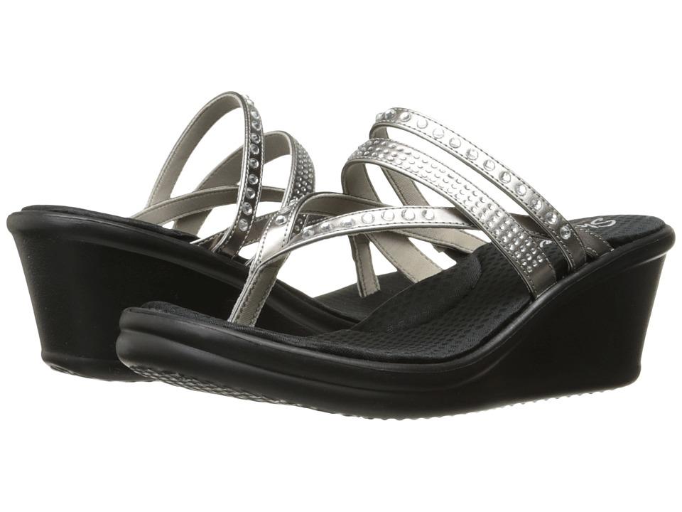 Skechers Rumblers - Famous (Pewter) Women's Shoes