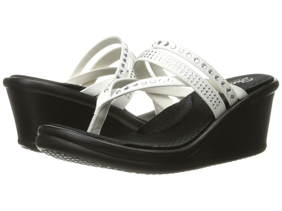 Skechers Rumblers - Famous (White) Women's Shoes