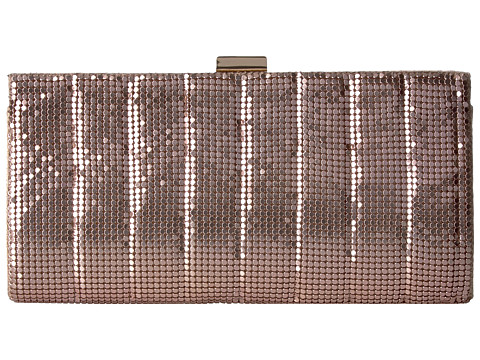 Jessica McClintock Bailey Quilted Framed Clutch - Blush