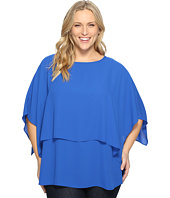 Karen Kane Plus - Plus Size Double Layer Top