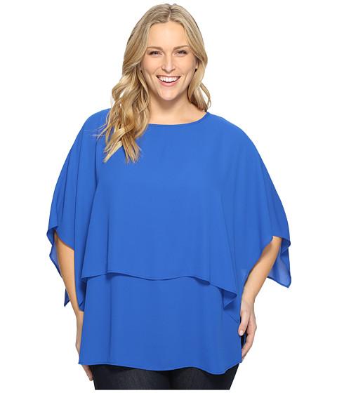 Karen Kane Plus Plus Size Double Layer Top