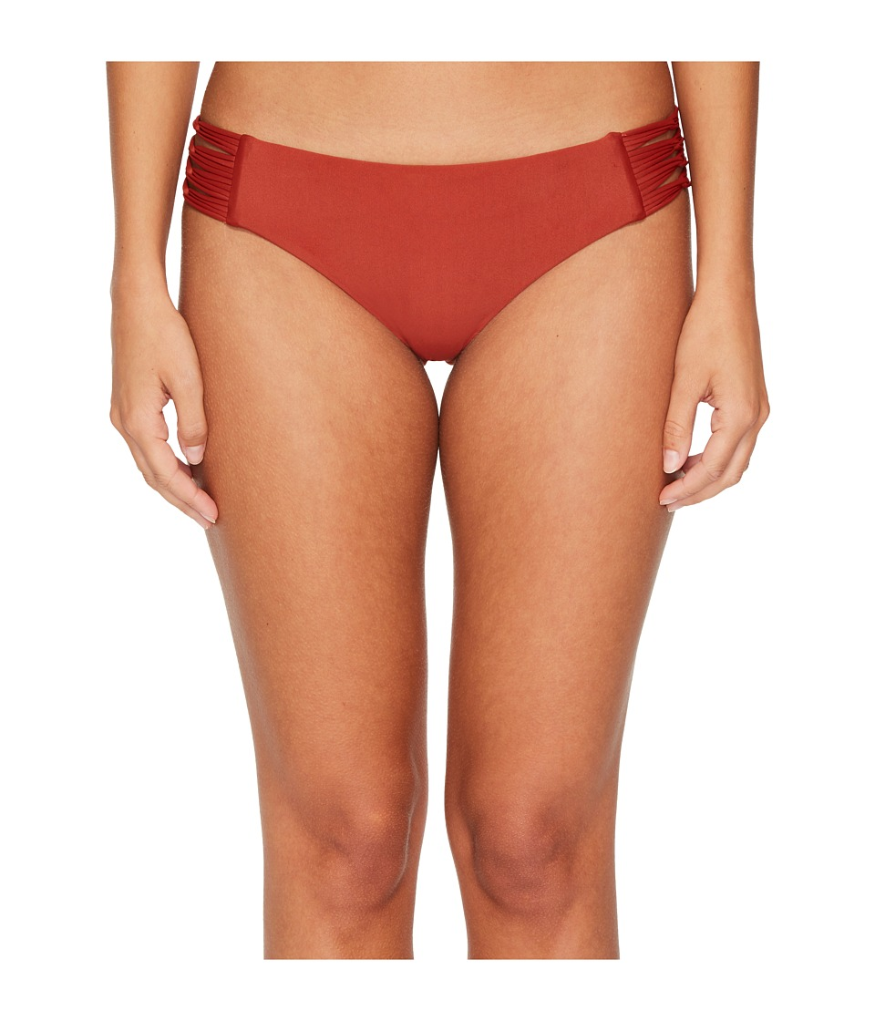 Body Glove Smoothies Ruby Low Rise Bottom (Terracotta) Women