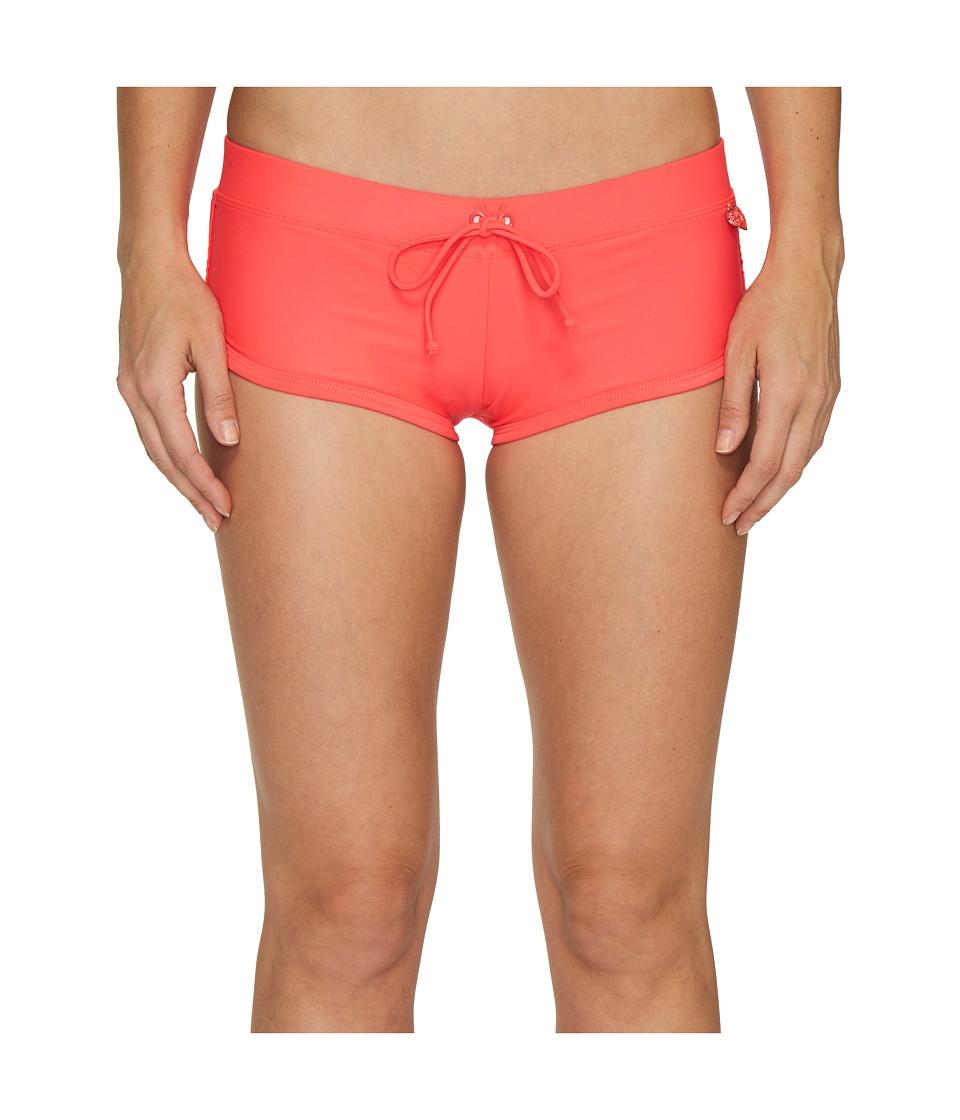 Body Glove Smoothies Sidekick Sporty Swim Short (Diva) Women