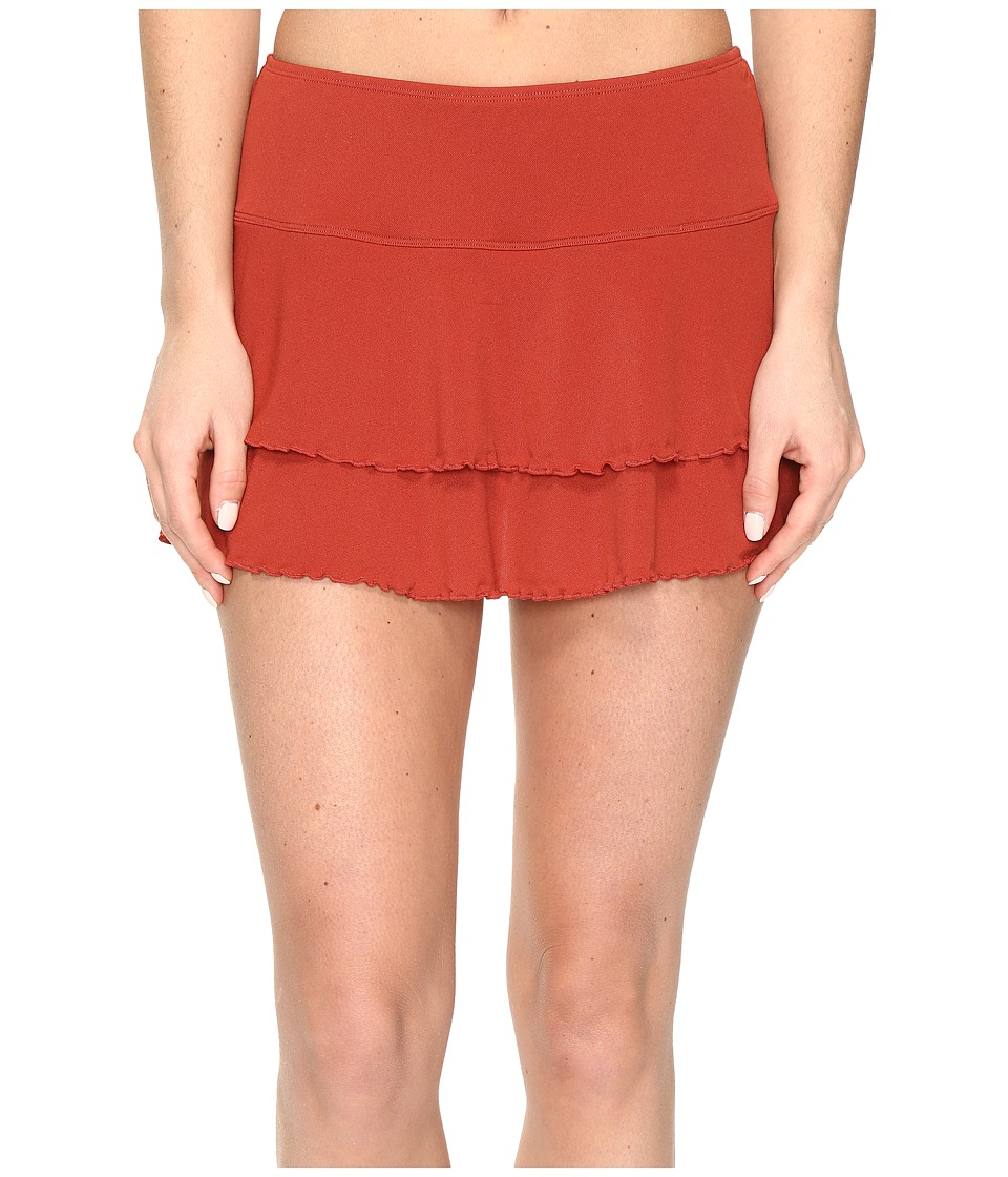 Body Glove Smoothies Lambada Skirt (Terracotta) Women
