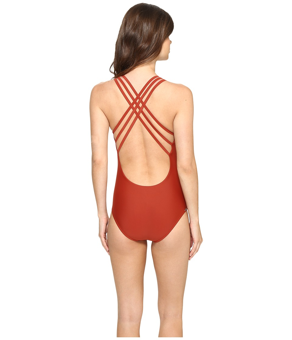 Body Glove - Smoothies Crossroads One-Piece (Terracotta) Womens Swimsuits One Piece
