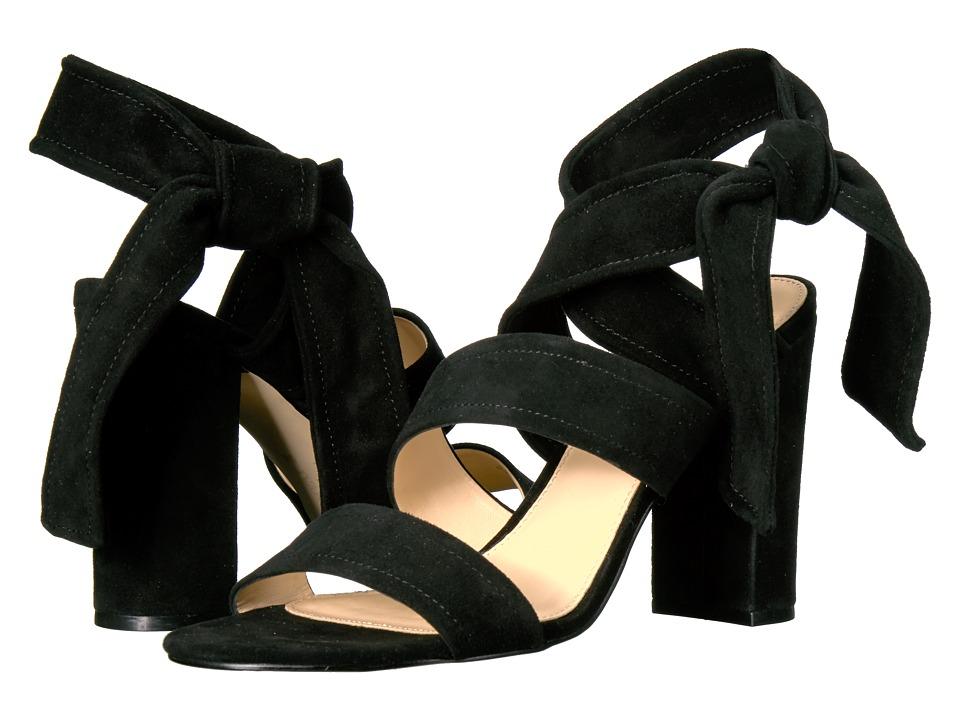 Ivanka Trump Kiffie (Black Suede/Savoy Suede) High Heels