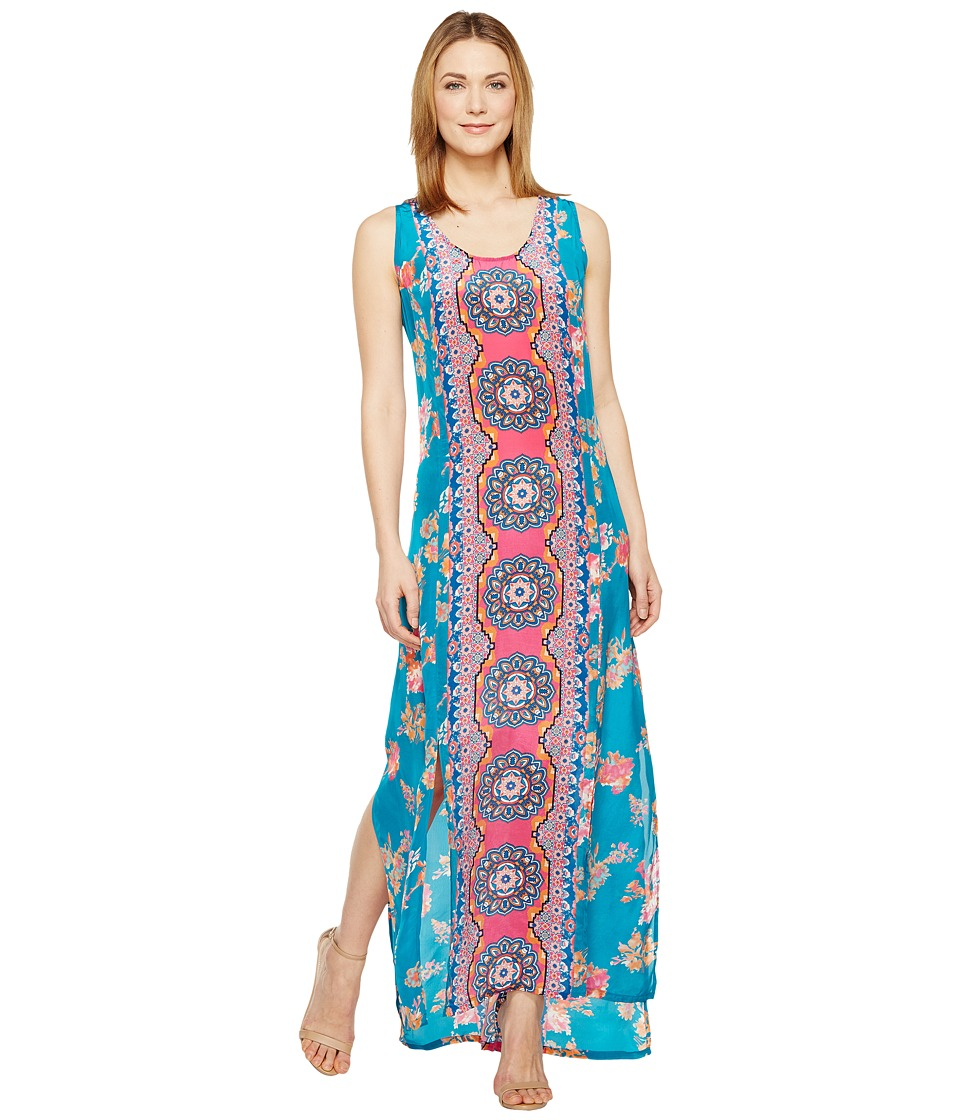 Tolani Kendall Maxi Dress (Hibiscus) Women