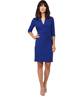 Tahari by ASL - Side Ruche Crepe Sheath Dress