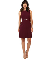 Tahari by ASL - A-line Dress w/ Hardware