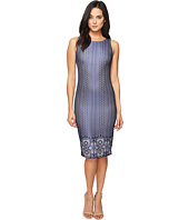 Jessica Simpson - Deco Border Bonded Lace Dress
