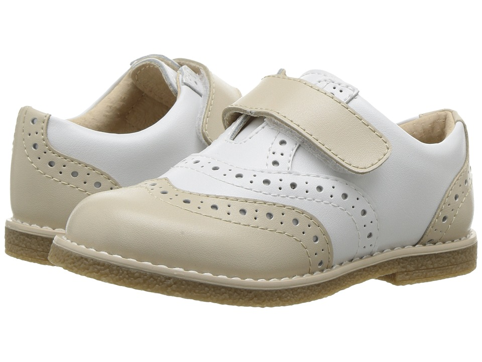 FootMates Wyatt (Toddler/Little Kid) (Ecru/White) Boy's Shoes