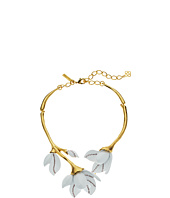Oscar de la Renta - Magnolia Resin Flower Necklace