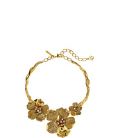 Oscar de la Renta - Pave and Dotted Petal Necklace