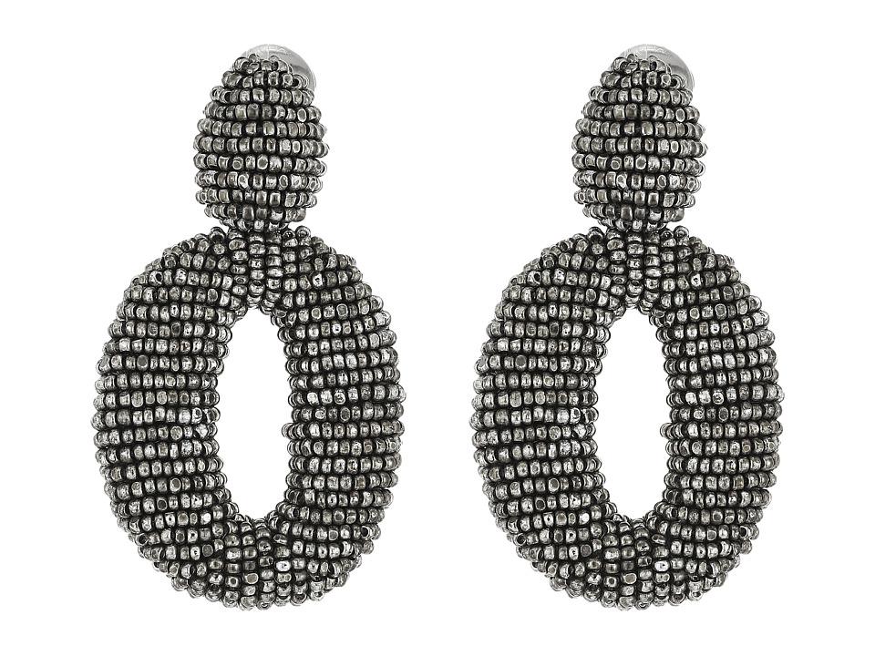 Oscar de la Renta - Classic Oscar O C Earrings