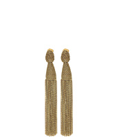 Oscar de la Renta - Classic Long Chain Tassel C Earrings
