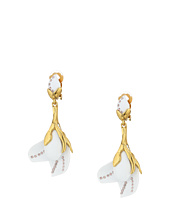 Oscar de la Renta - Magnloia Resin Flower C Earrings