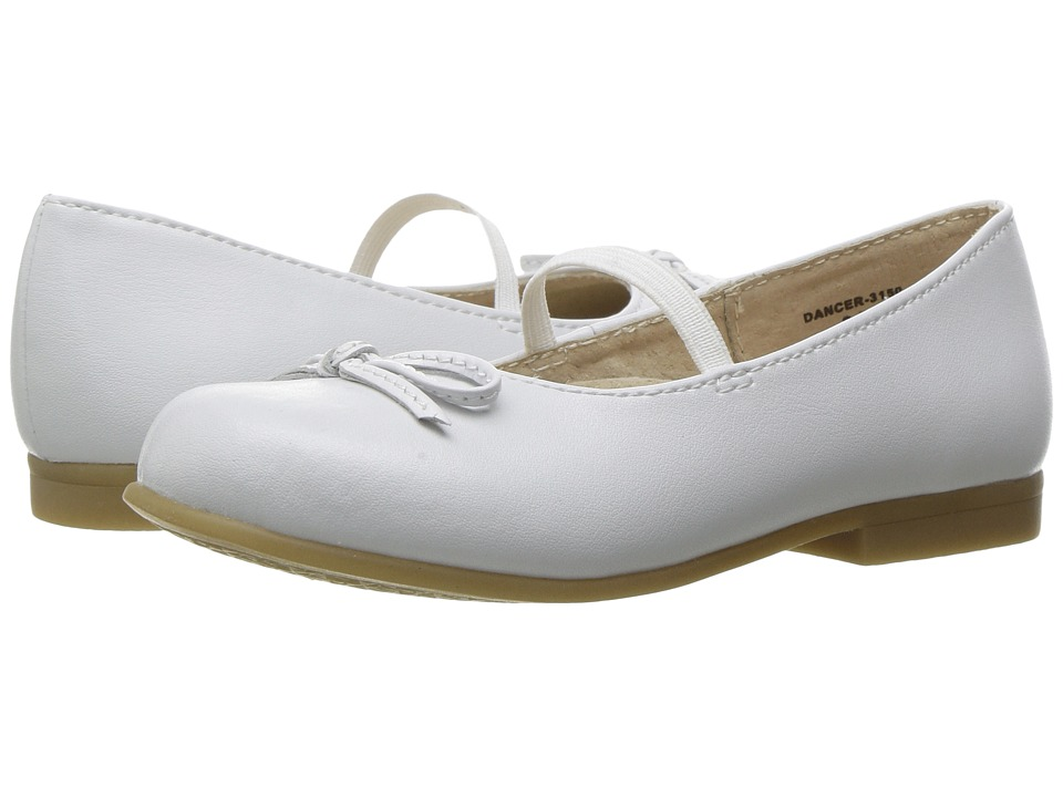FootMates Dancer (Toddler/Little Kid) (White) Girl's Shoes