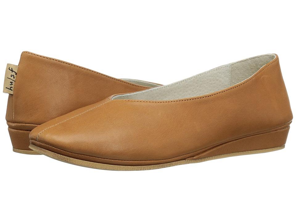 French Sole Split (Caramel Nappa Leather) Women