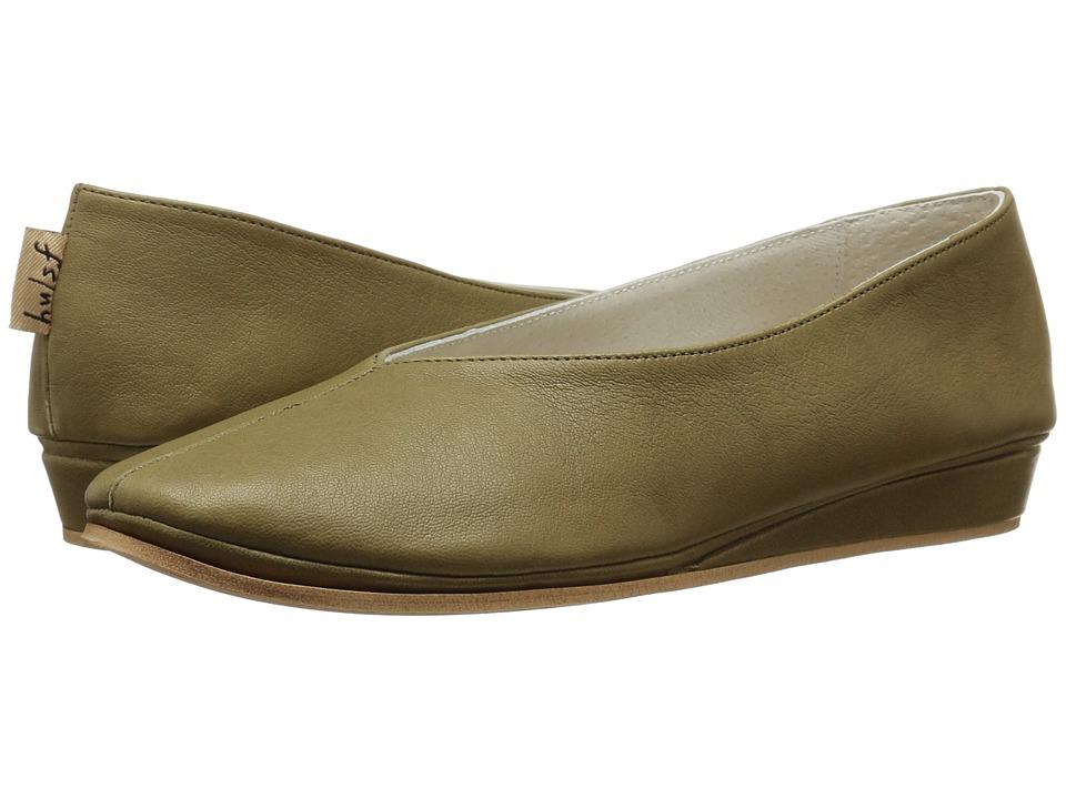 French Sole Split (Jungle Green Nappa Leather) Women