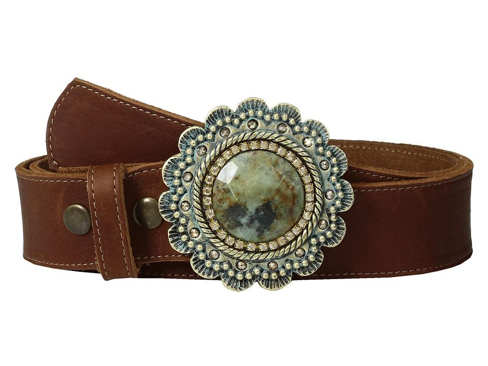 Leatherock 9747 (Brown) Women's Belts