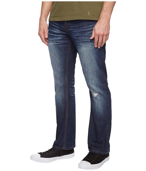 Buffalo David Bitton King Slim Bootcut Jeans in Medium Repaired ...
