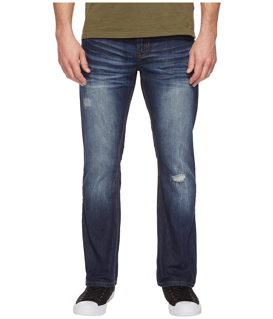 Buffalo David Bitton Buffalo David Bitton - King Slim Bootcut Jeans in Medium Repaired Wash