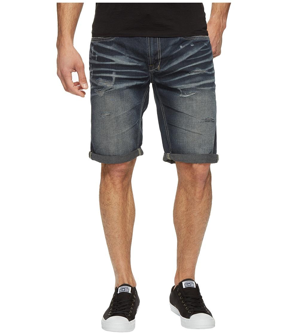 Buffalo David Bitton - Six Denim Shorts in Dark Tinted