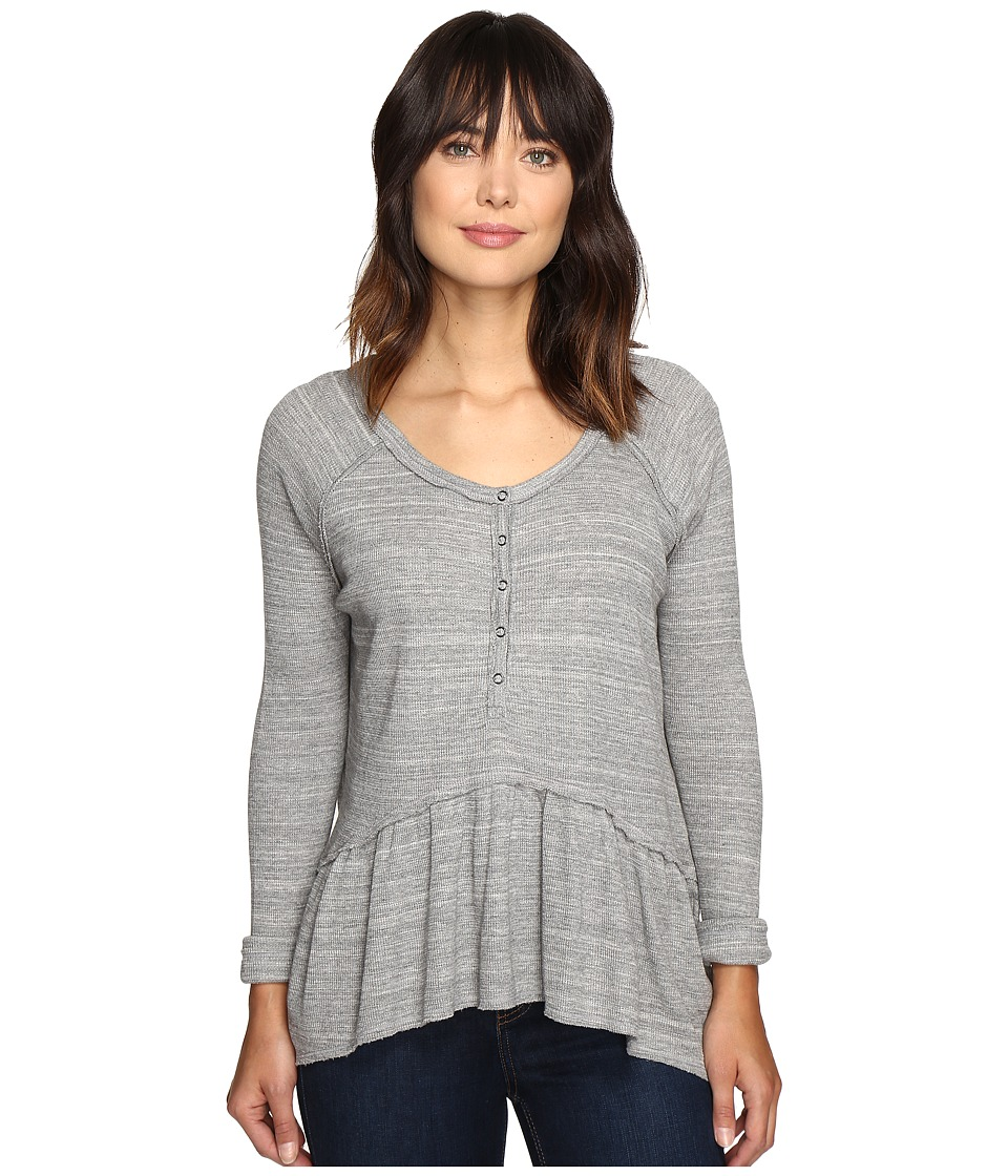 Free People Coastline Tee (Grey) Women