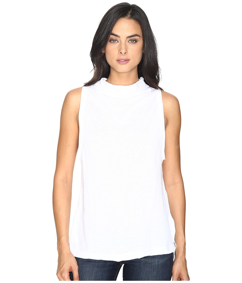 Free People Madrid Tee (White) Women