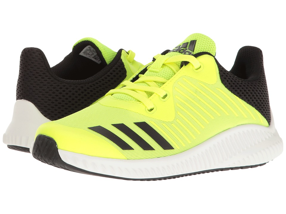 adidas Kids FortaRun (Little Kid/Big Kid) (Solar Yellow/Footwear White/Core Black) Boys Shoes