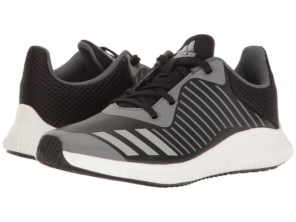 adidas Kids FortaRun (Little Kid/Big Kid) (Core Black/Silver Metallic/Onix) Boys Shoes