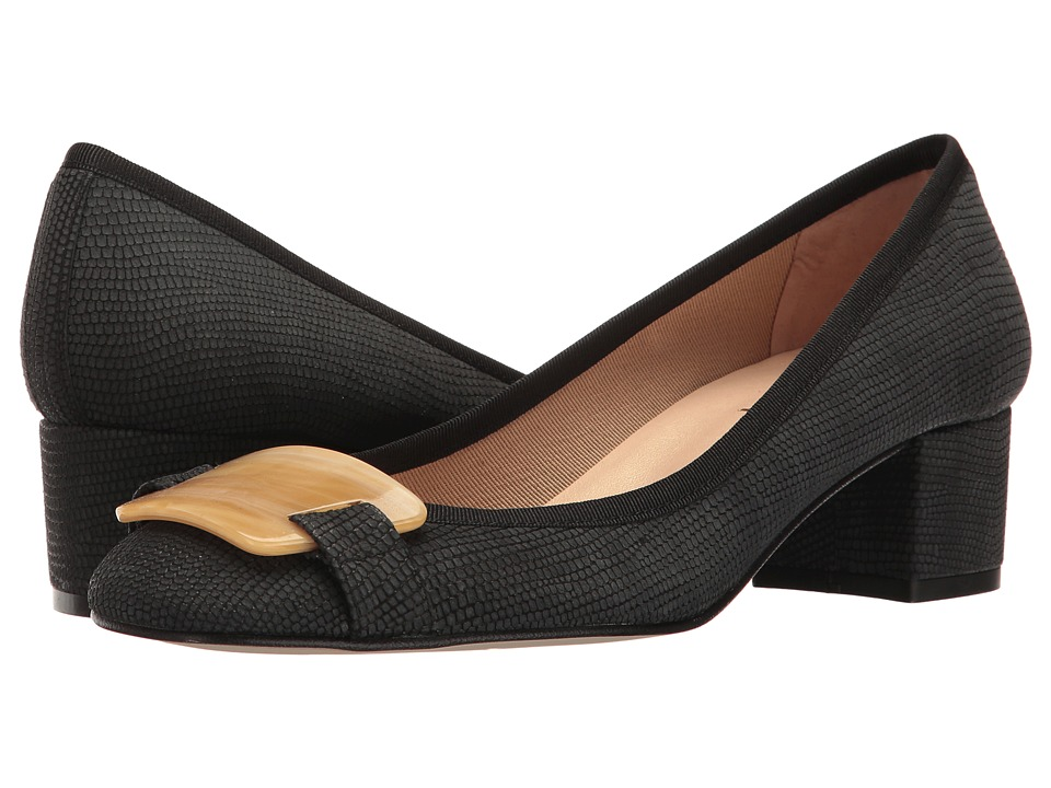 French Sole Royal (Black Ibiza Printed Leather) Women