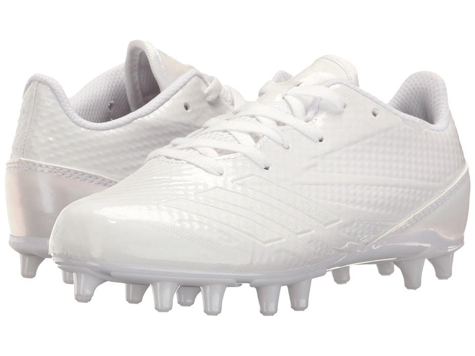 adidas Kids Adizero 5 Star 6.0 Football (Little Kid/Big Kid) (White) Boys Shoes