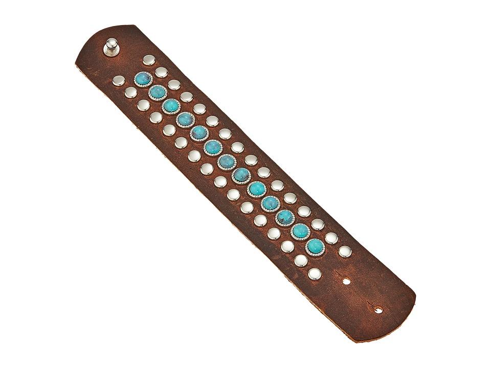 Leatherock B790 (Dark Walnut) Bracelet