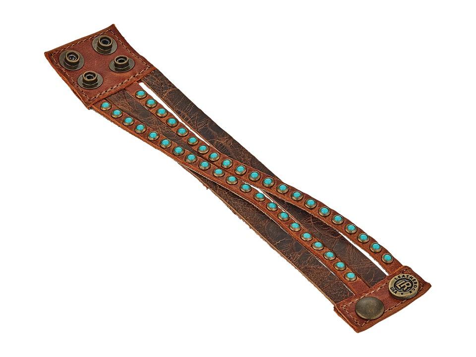 Leatherock B622 (Auburn) Bracelet