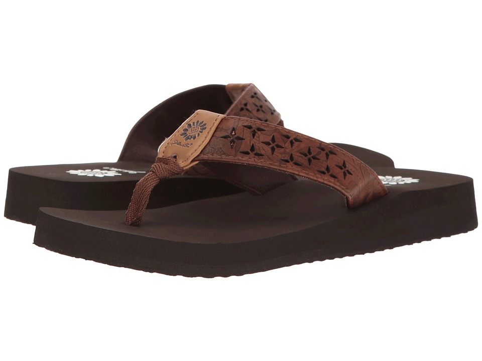 Yellow Box - Benji (Dark Brown) Women's Sandals
